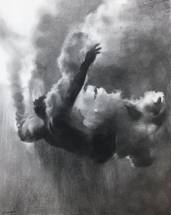 'Plunge Study IV' by Patsy McArthur