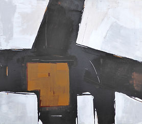 Abstract with Brown_Mark Fearn_Alpha Art
