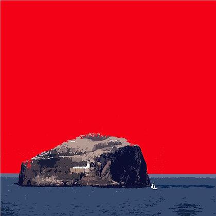 'Bass Rock' by Stephen O'Neil