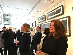 Ron Lawson - Exhibition Preiew evening -