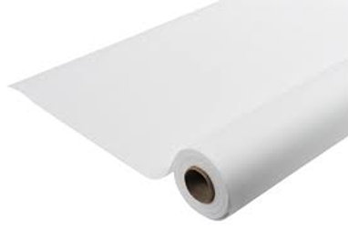 Nappe blanche en effet tissu