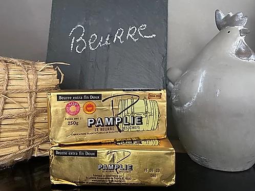 BEURRE PAMPLIE DOUX - 250 gr