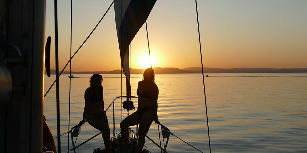 Lake Taupo Sunset Sailing Adventure