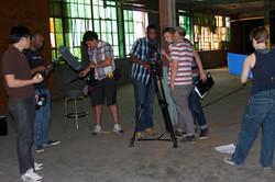 Crew On Set