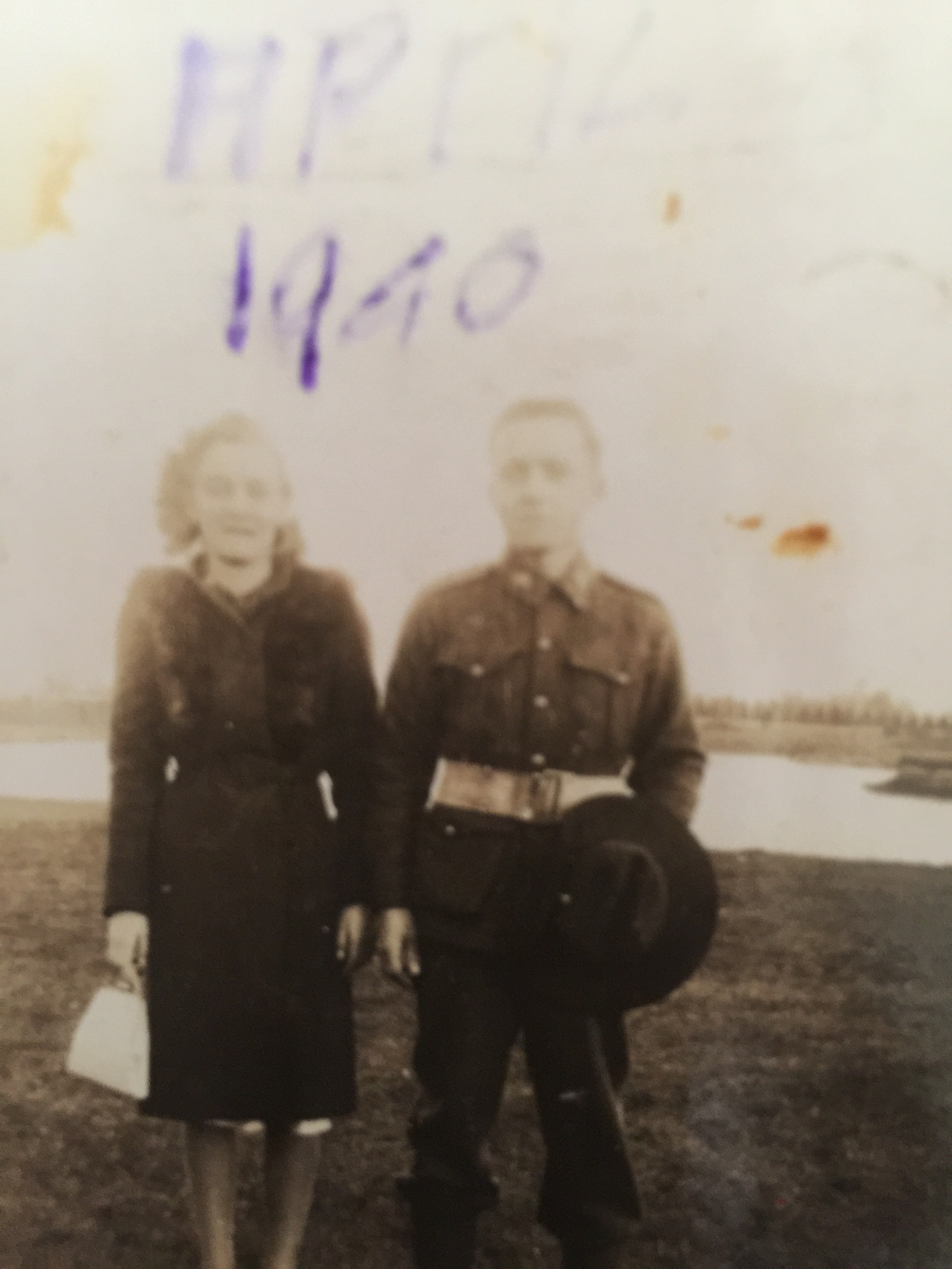 Nan and Pop (WWII)