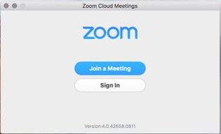 Zoom Virtual Chat Room