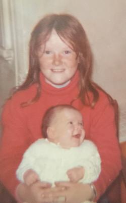 2 months before I got burnt 1974