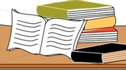 Books on Table Drawing #2 Small.jpg