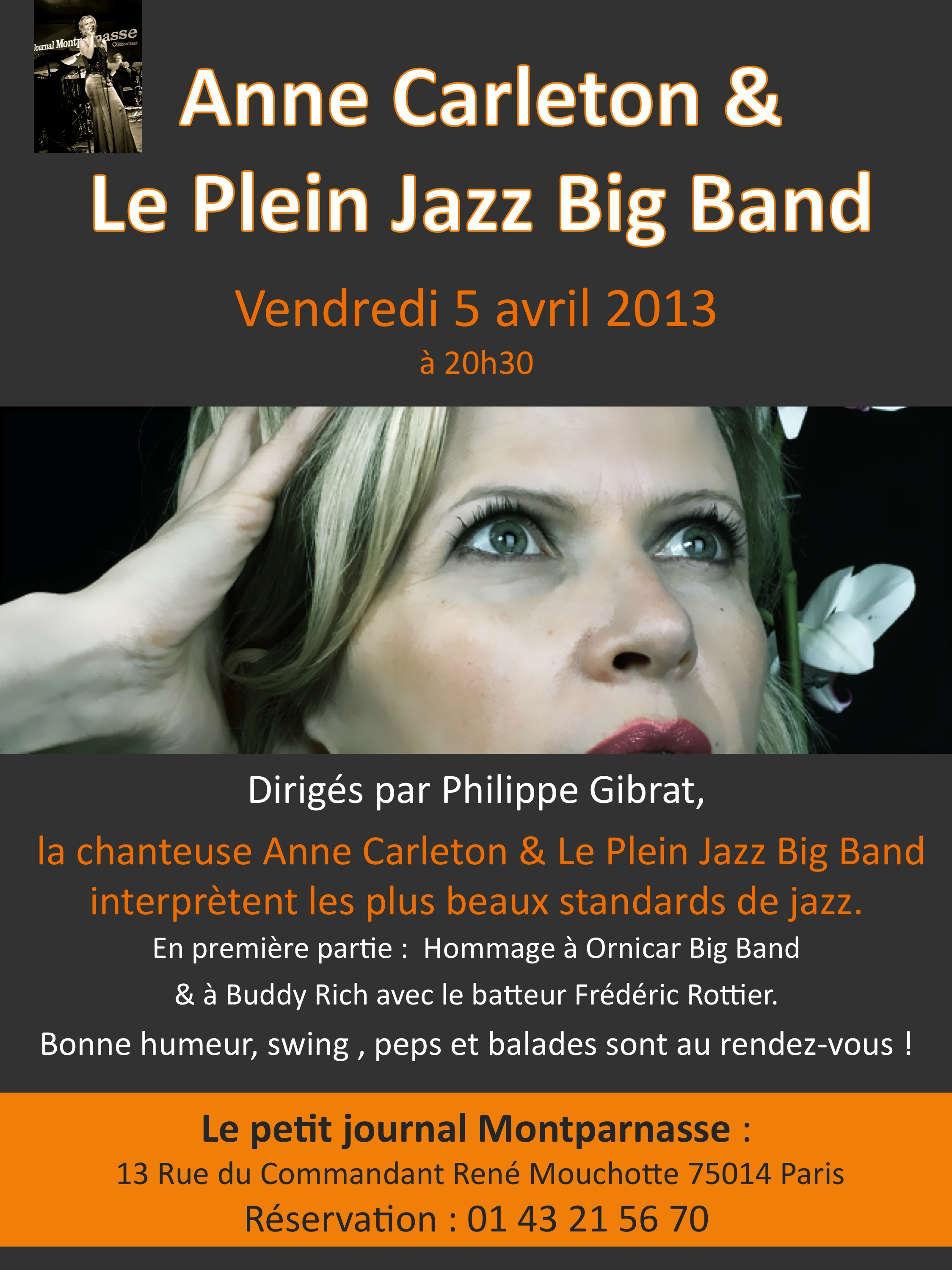 Anne Carleton en big band