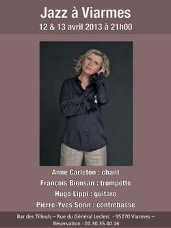 Anne Carleton jazz quartet