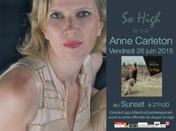 Anne Carleton Quintet au Sunset