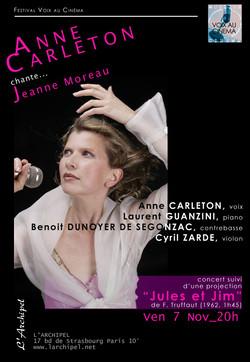 Anne Carleton et Jeanne Moreau