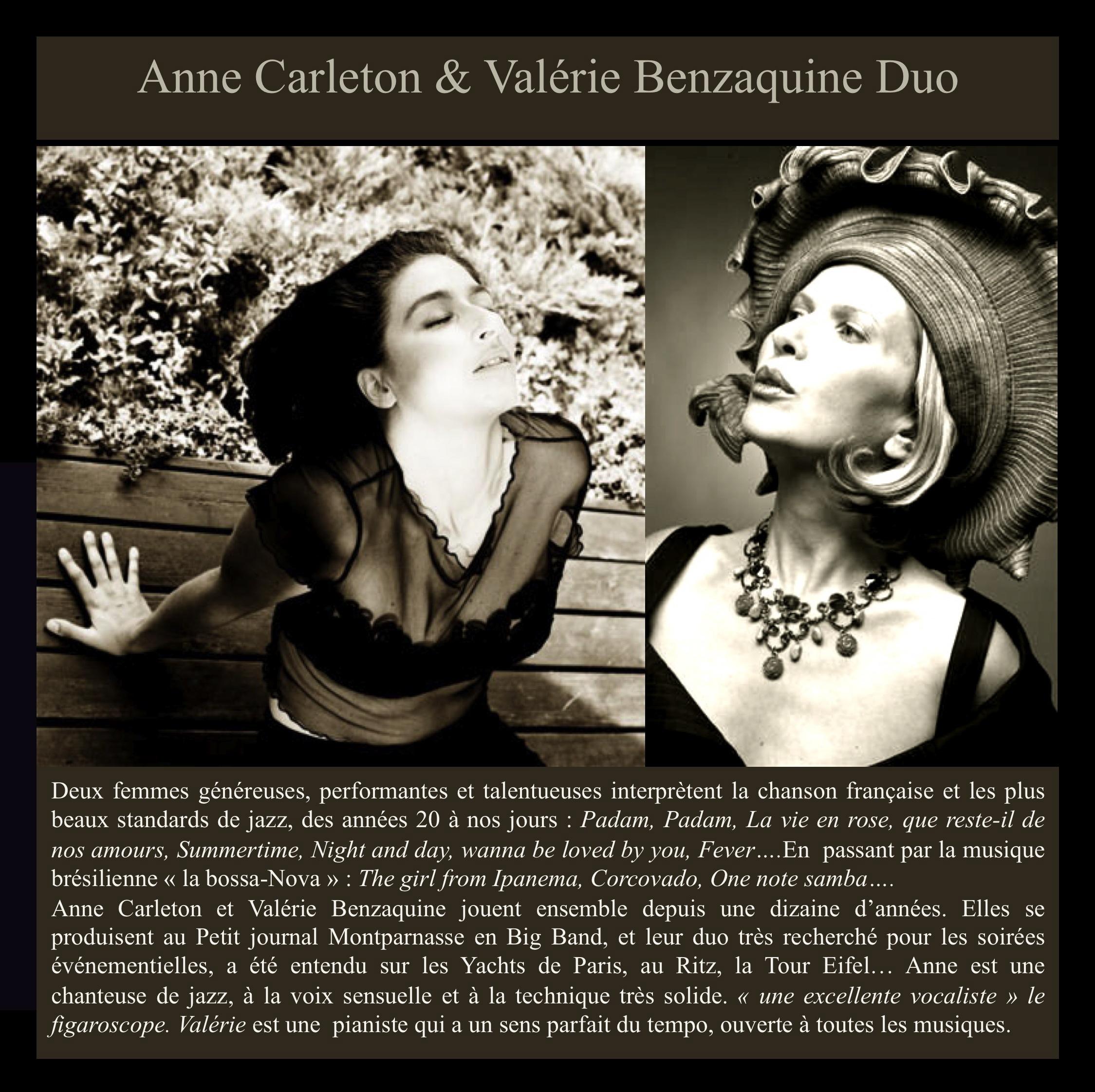 Duo jazz féminin