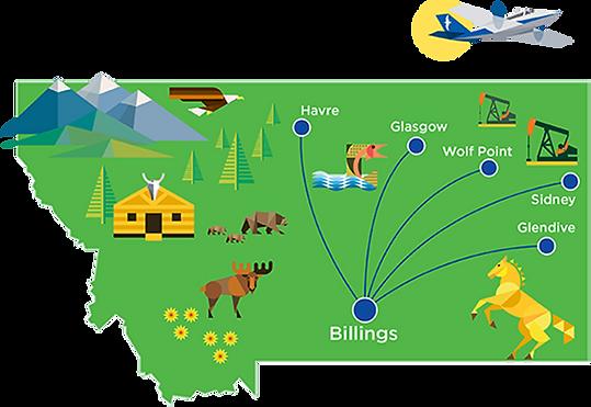 Cape Air Montana Flight Destinations