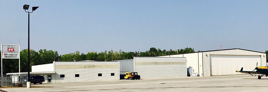 Richland Aviation Operations Ramp Area