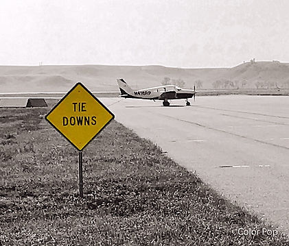 Sidney-Richland Airport Tie Down Area
