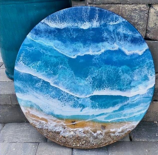 Round beachscape