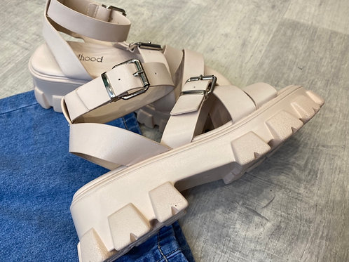 BUCKLE UP Sandals