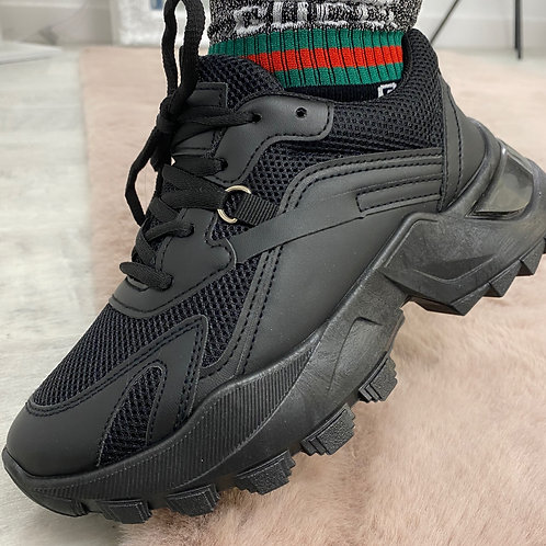 SOLID GROUND Chunky Trainers