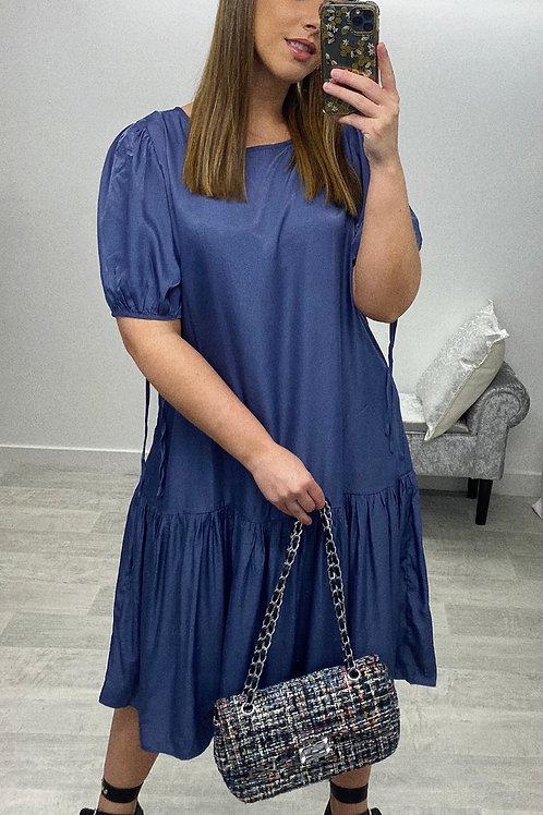 ROYALTY Midi Smock Dress