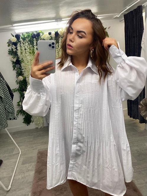 PLEATS YOURSELF White Shirt