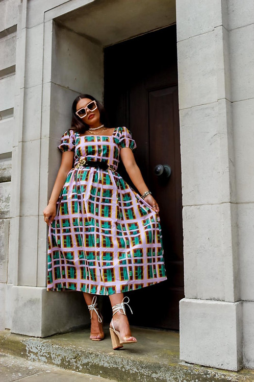 STYLED BY: Sammie ORCHID Midi Dress