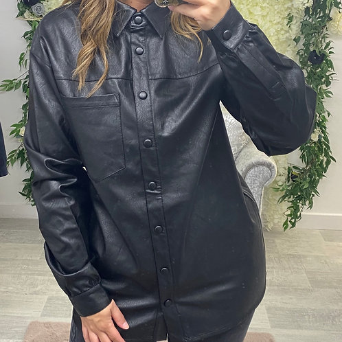 HELL FOR LEATHER Shacket