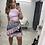 Thumbnail: IN THE MIX Print Wrap Mini Skirt