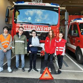 Firmlingstreffen bei der Feuerwehr