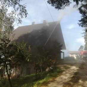 Zwischendeckenbrand Magdalensberg