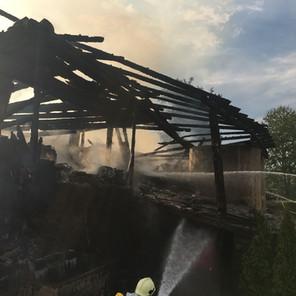 Wirtschaftsgebäudebrand Lamprechtsberg