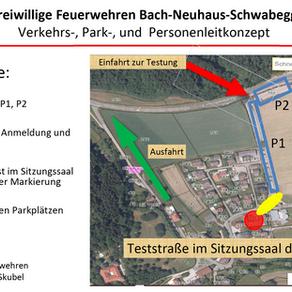 Informationen zu den Covid19-Massentests in der Gemeinde Neuhaus
