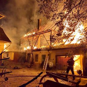 B5, Wirtschaftsgebäudebrand Pudlach