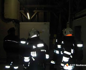 ATS-Übung im Kraftwerk Lavamünd