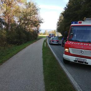 Verkehrsunfall in Oberdorf