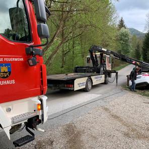 Verkehrsunfall in Neuhaus