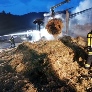 Wirtschaftsgebäudebrand in Motschula