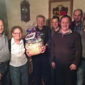 Altmitglied Johann Rudl feierte 70er