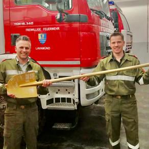 OBR Patrick Skubel übergab Kat-Zug-5-Kommando
