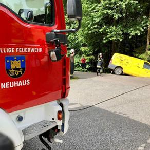 Verkehrsunfall in Hl. Stadt