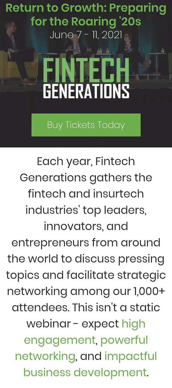 Fintech Generations Overview