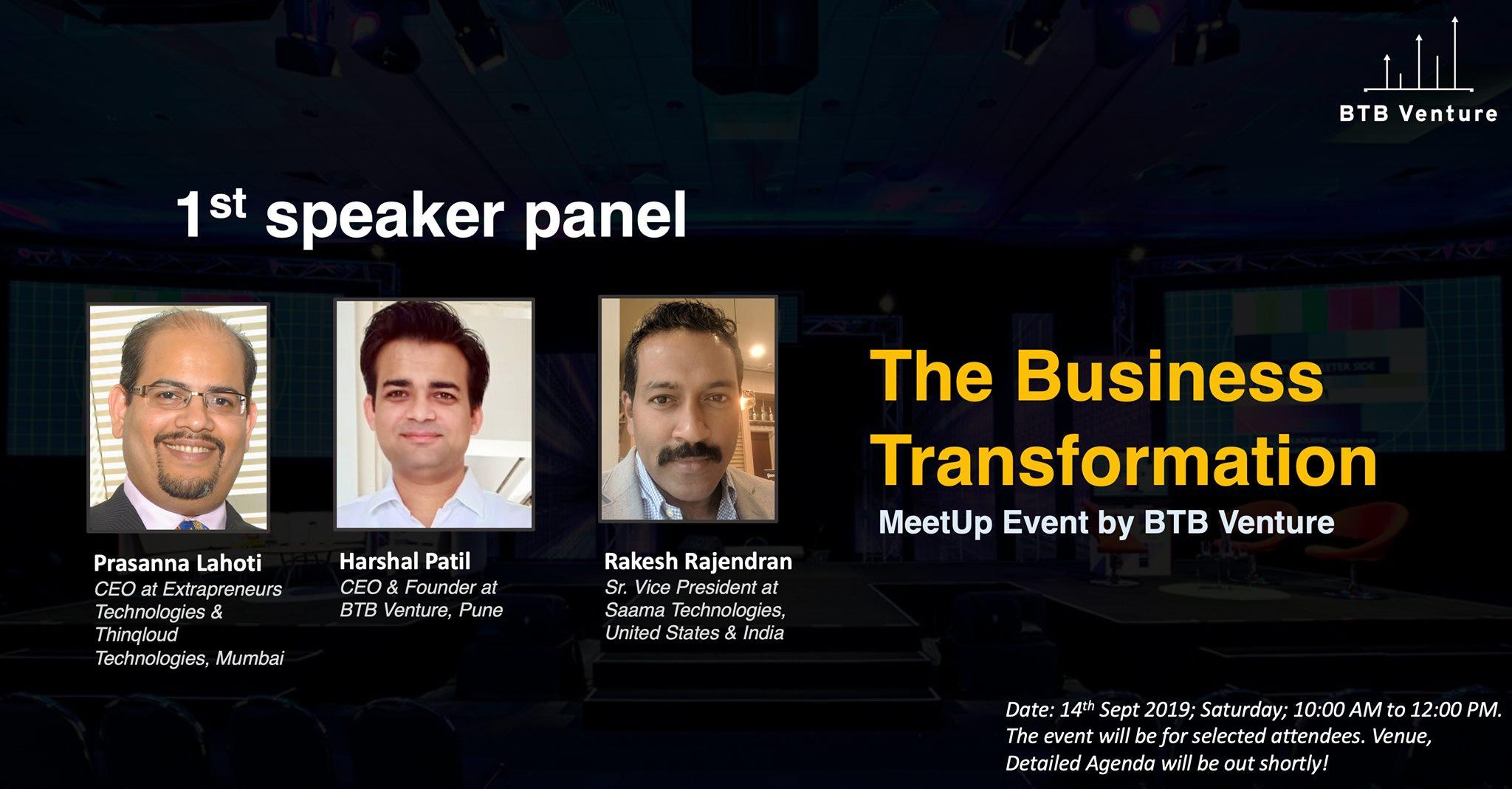 Meetup Event at BTB Venture