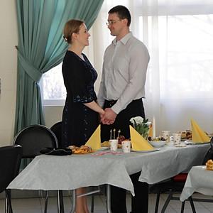 Романтический вечер семейных пар