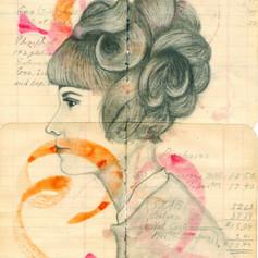 Orange and Pink Swirl Profile