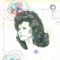 Blueprint Portrait #1