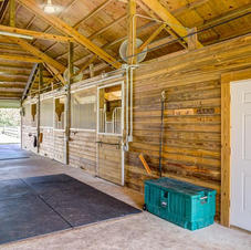 Brand new barn