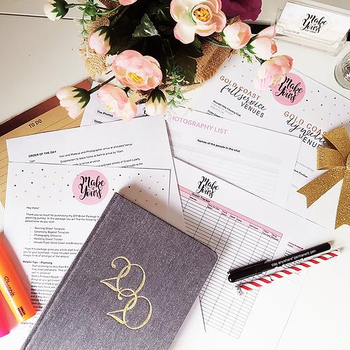 DIY Bridal Package