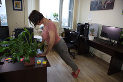 офисный синдром - упражнения в офисе