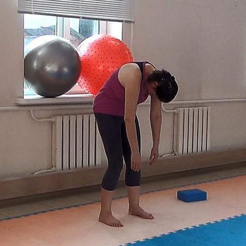1 урок - Расслабление спины