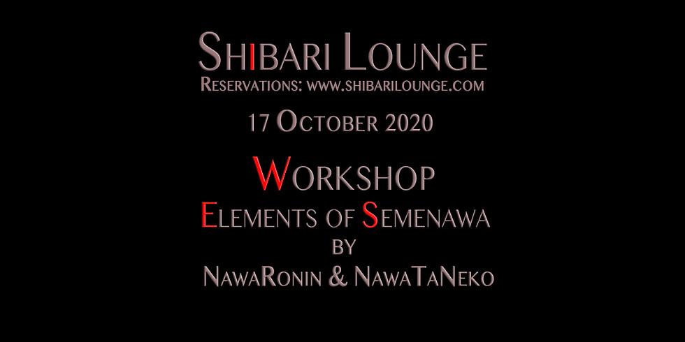 Workshop - Elements of Semenawa by Discover Kinbaku